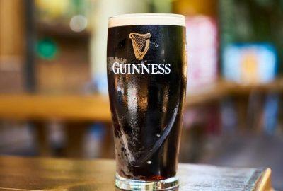 Zoom sur la fameuse Guinness